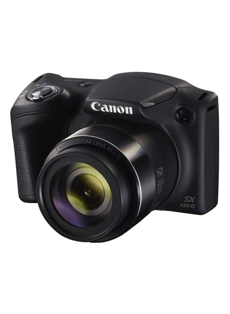 Canon PowerShot SX430 is 20MP 45X Optical Zoom WiFi/NFC Black Digital Camera