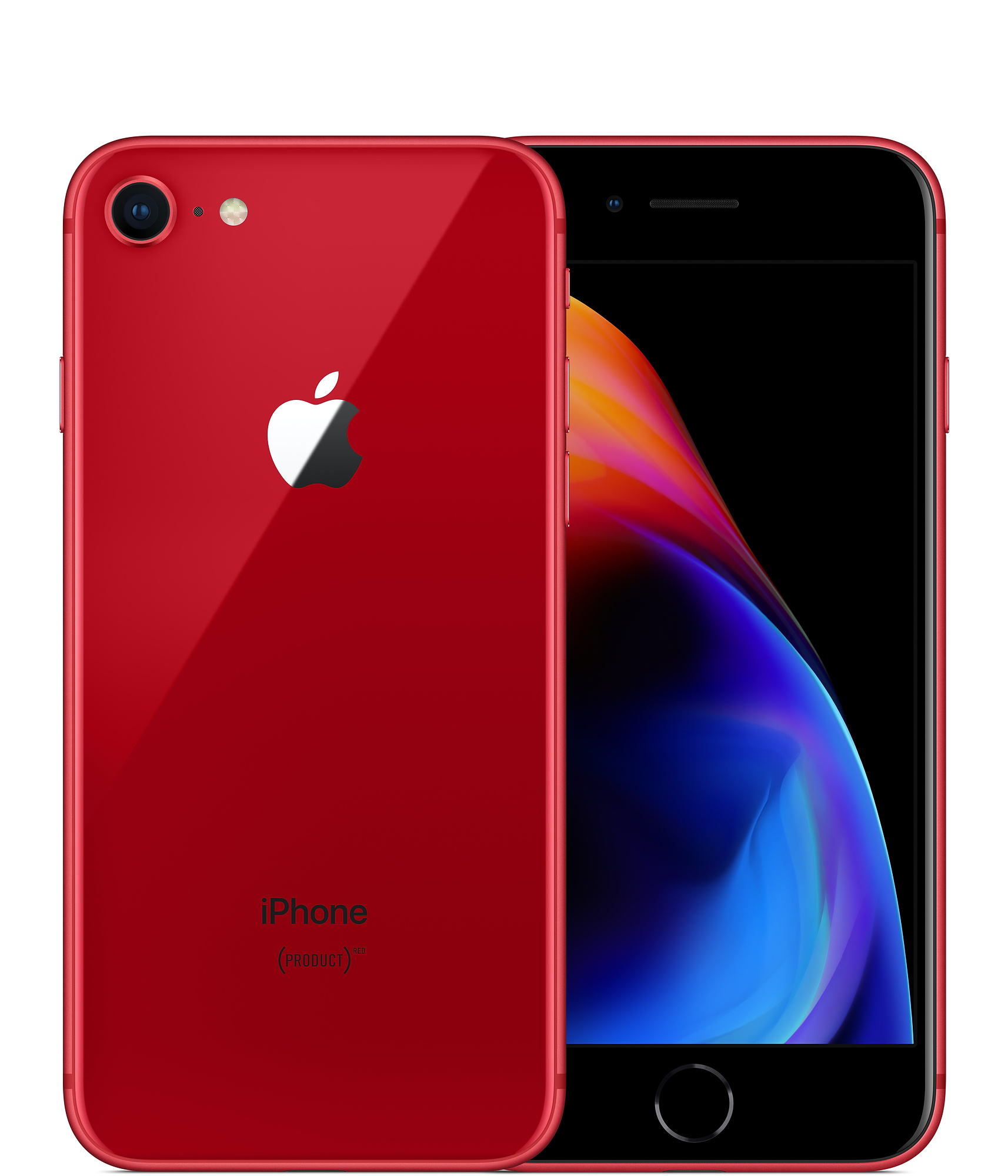 Apple iPhone 8 with FaceTime - 256GB, 4G LTE, Red