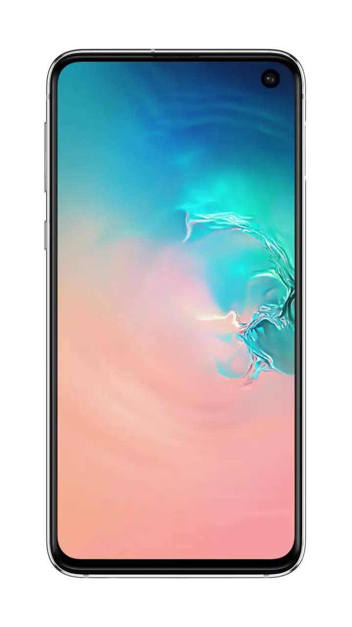 Samsung Galaxy S10e Dual Sim - 128GB, 6GB, 4G LTE, Prism White