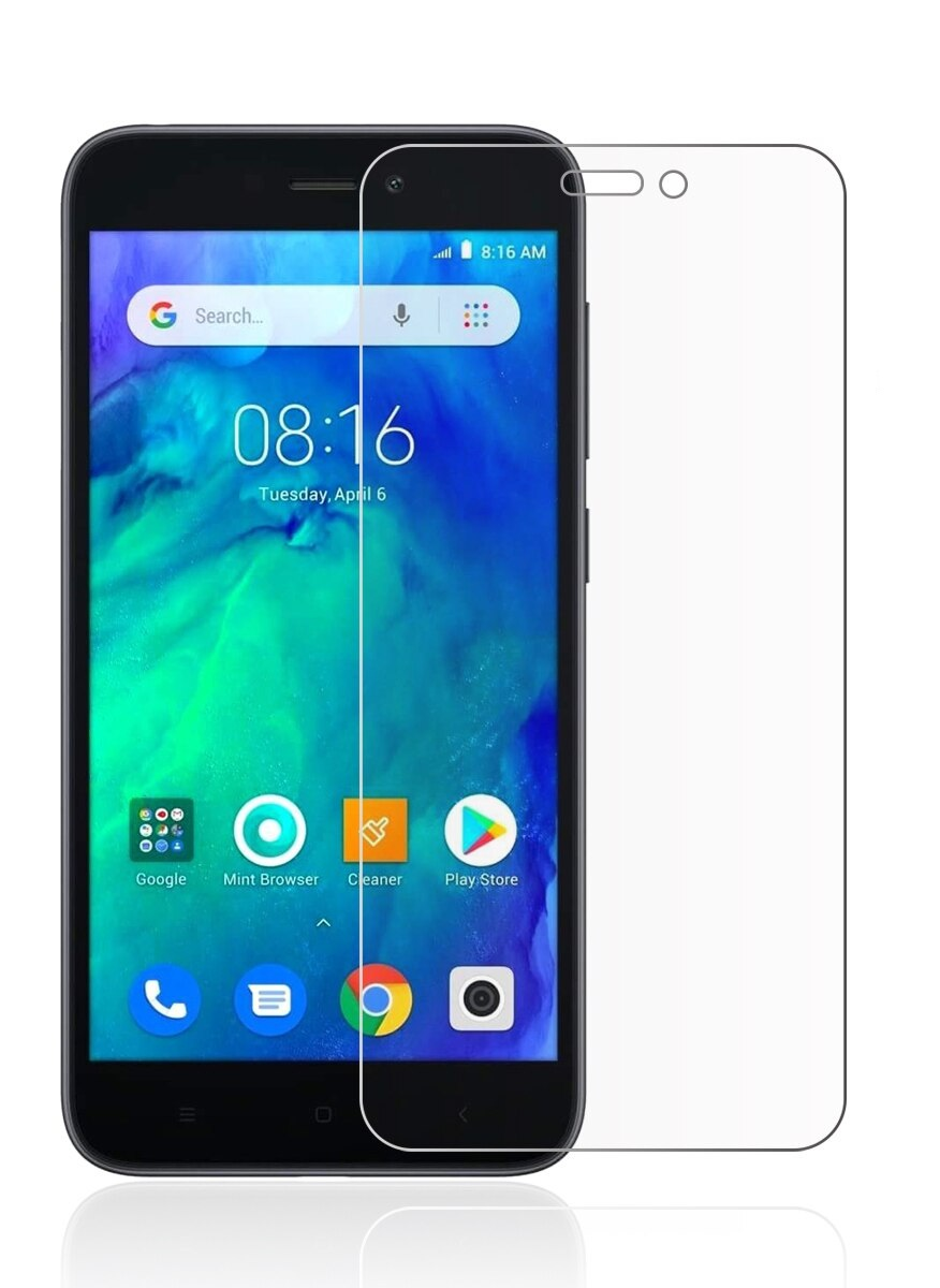 Itell Tempered Glass Screen Protector For Xiaomi Redmi Go Clear