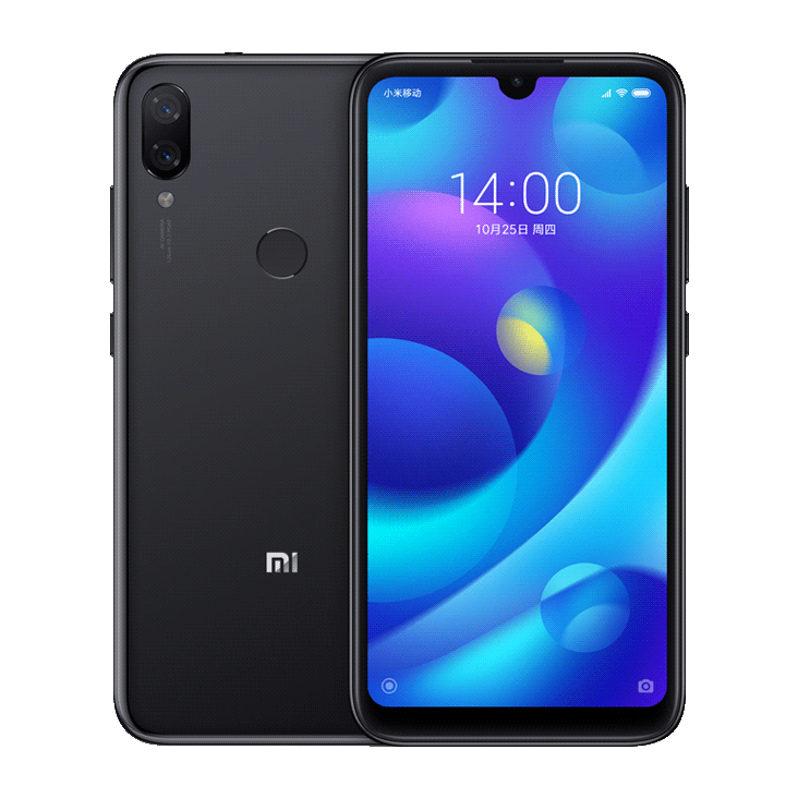 Xiaomi MI Play Dual SIM - 64GB, 4GB RAM- Global Versia Black