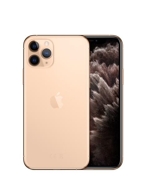 Apple iPhone 11 Pro Dual SIM With FaceTime - 512GB, 4G LTE Gold