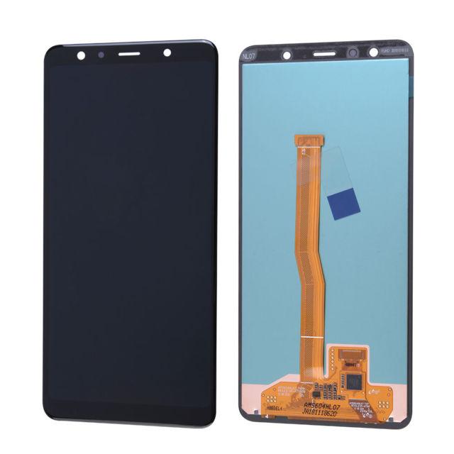 LCD+ TOUCH SAMSUNG A7 2018 A750 BLACK ORIGINAL 100%