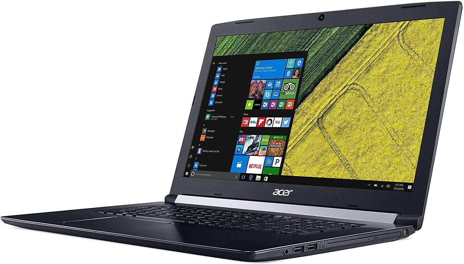 Acer Aspire 5 With 15.6-Inch Display, Core i5 Processor/6GB RAM/1TB HDD/2GB NVIDIA GeForce 940MX Graphics Card/English Keyboard Steel Grey