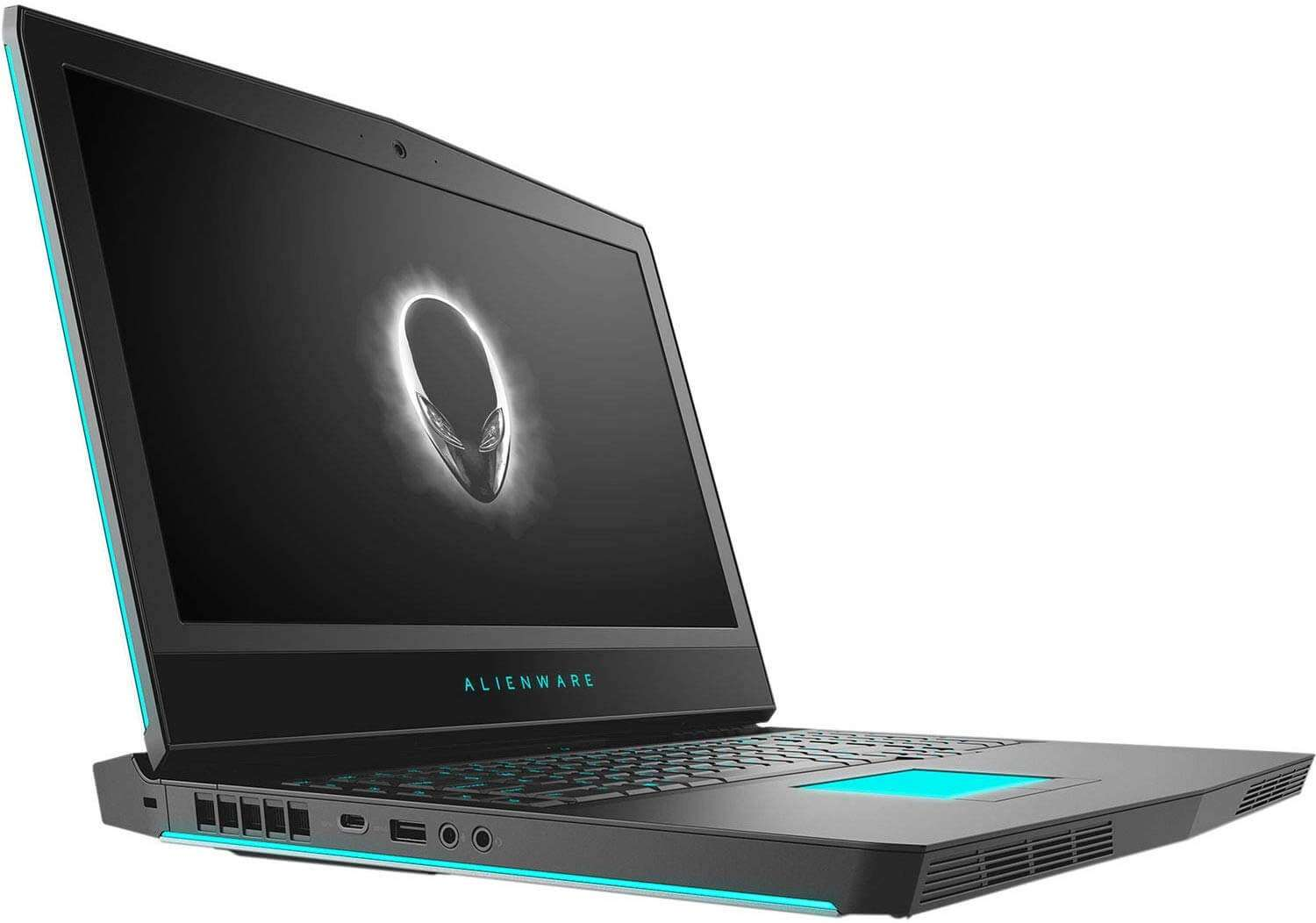 DELL Alienware 17 R5 Gaming Laptop 17.3-Inch Display, Intel i7-8750H Processor/16GB RAM/1TB HDD+128SSD/8GB GeForce GTX 1070 Black