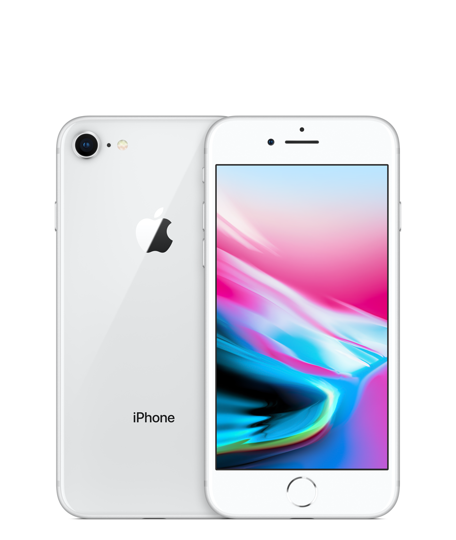 Apple iPhone 8 with FaceTime - 256GB, 4G LTE, Silver