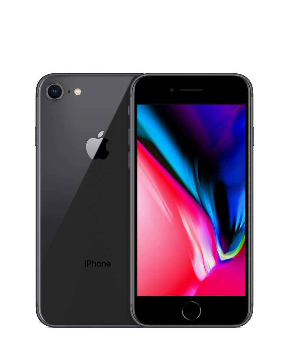 Apple iPhone 8 with FaceTime - 256GB, 4G LTE, Space Grey