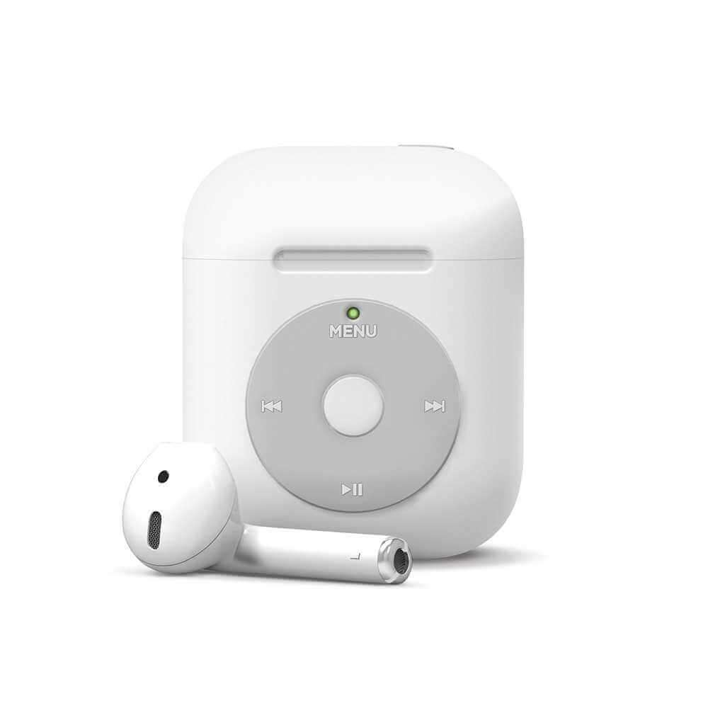 Elago Basic AW6 Case for Apple Airpods - White