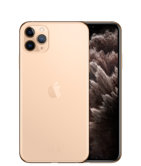 Apple iPhone 11 Pro Max Dual SIM With FaceTime - 64GB, 4G LTE Gold