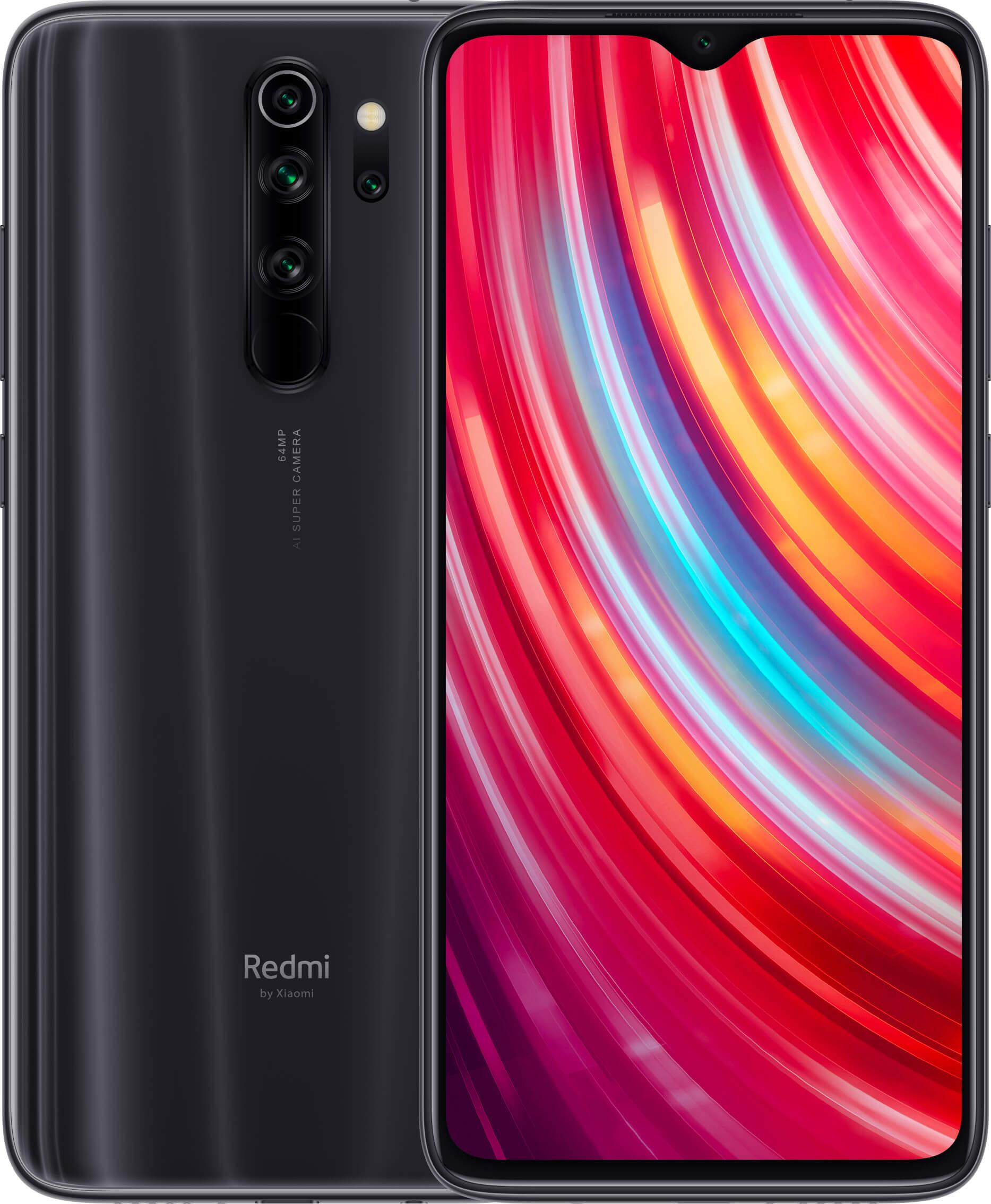 Xiaomi Redmi Note 8 PRO Dual SIM - 128GB, 6GB RAM, 4G LTE, Mineral Grey Global Versia
