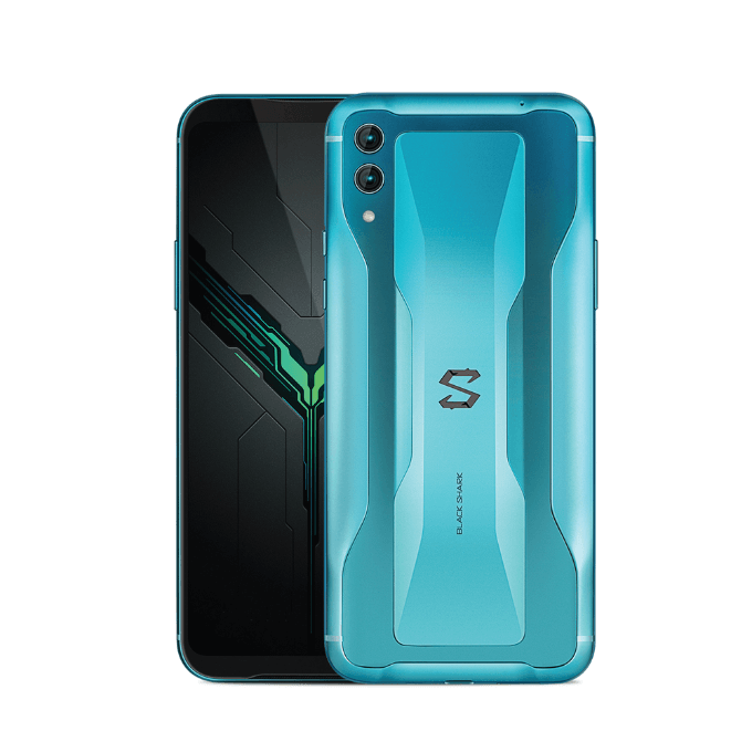 Xiaomi BLACK SHARK 2 Dual SIM - 256GB, 12GB RAM- Global Versia Glory Blue