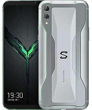 Xiaomi BLACK SHARK 2 Dual SIM - 128GB, 8GB RAM- Global Versia Frozen Silver