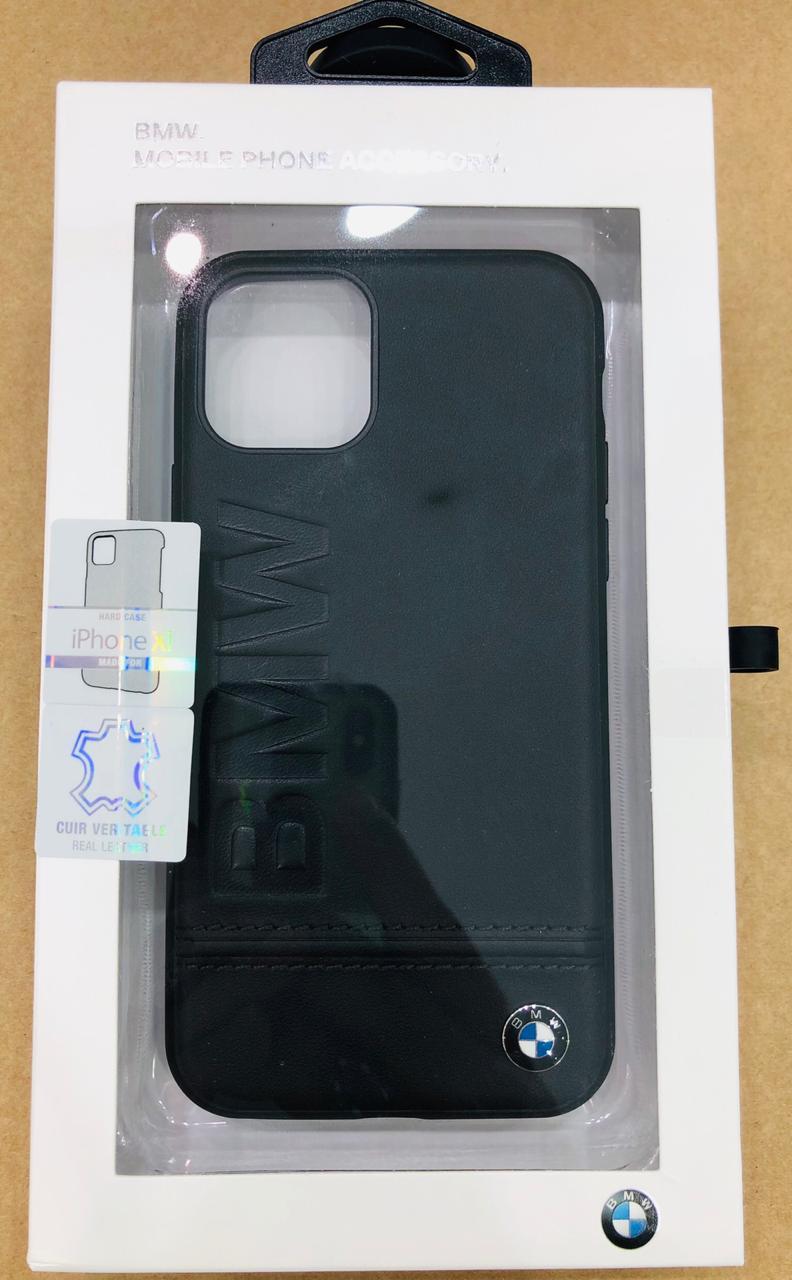 BMW Logo Imprint Hard Case For Apple iPhone 11 Pro - Black