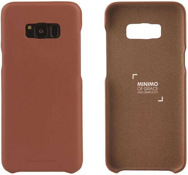 Viva Madrid Minimo Back Case for Samsung Galaxy S8 - Brown