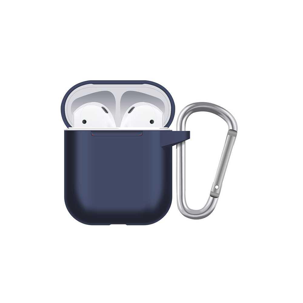 Porodo Silicone Hang Case for Airpods - Blue