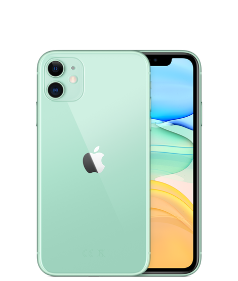 Apple iPhone 11 With FaceTime - 64GB, 4G LTE Green