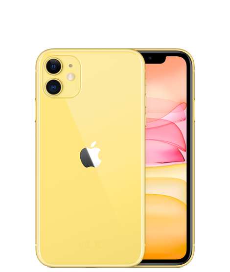Apple iPhone 11 With FaceTime - 256GB, 4G LTE Yellow