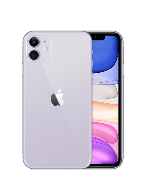 Apple iPhone 11 With FaceTime - 64GB, 4G LTE Purple
