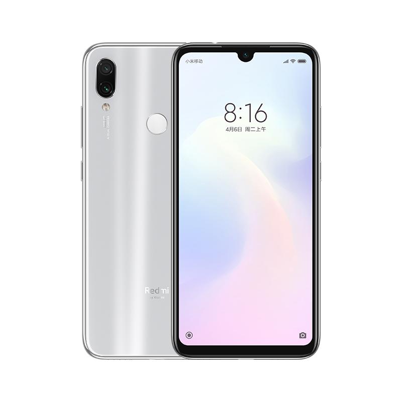 Xiaomi Redmi Note 7 Dual SIM - 64GB, 4GB RAM, 4G LTE, Moonlight White Global Versia