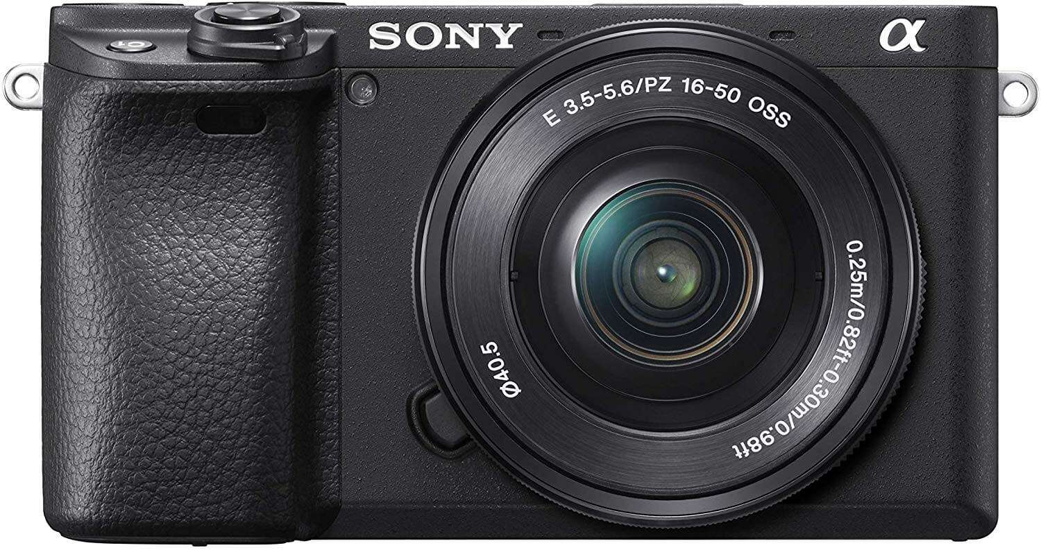 Sony A6400 Mirrorless Camera With 16-50mm Lens Kit (Black)