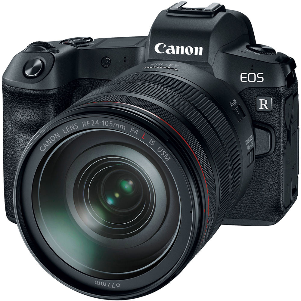 Canon EOS R Mirrorless Digital Camera with 24-105mm Lens (Black)
