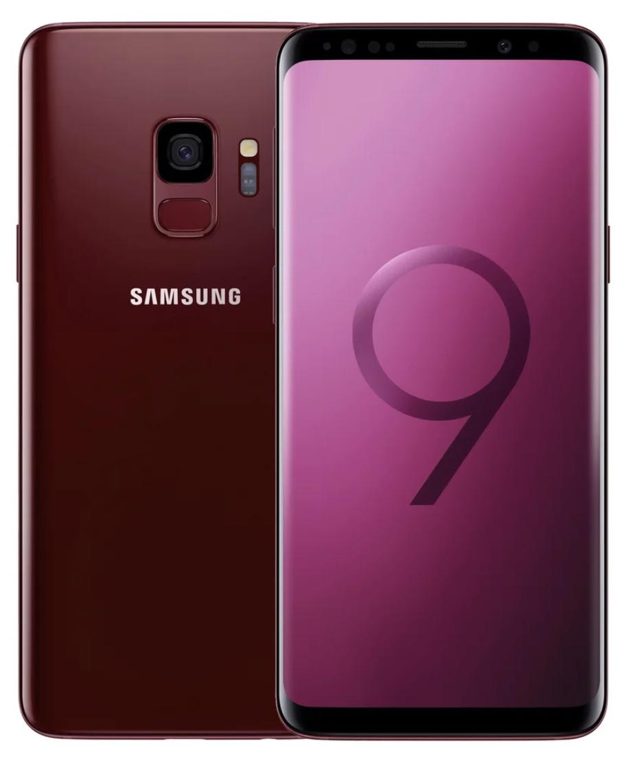 Samsung Galaxy S9 Dual Sim - 64GB, 4GB Ram, 4G LTE, Red