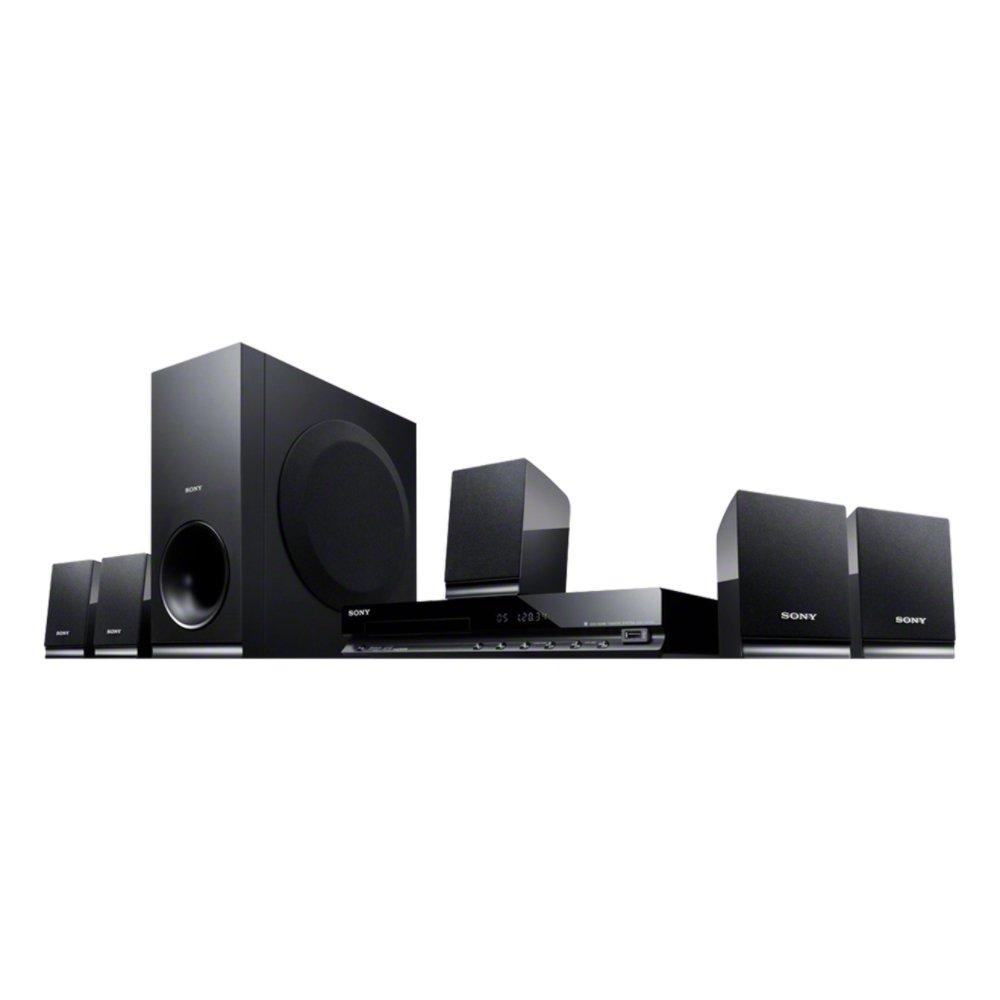 Sony Dvd Home Thaeater System - Dav-Tz140,Black