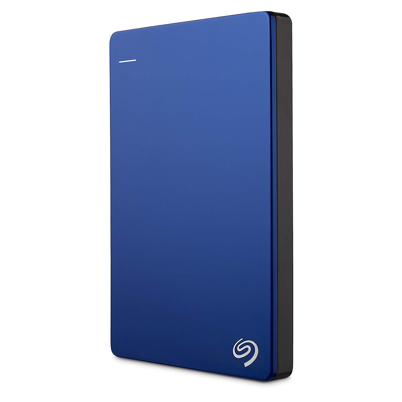 Seagate 2 TB Backup Plus USB 3.0 Slim Portable Hard Drive - Blue [STDR2000202]