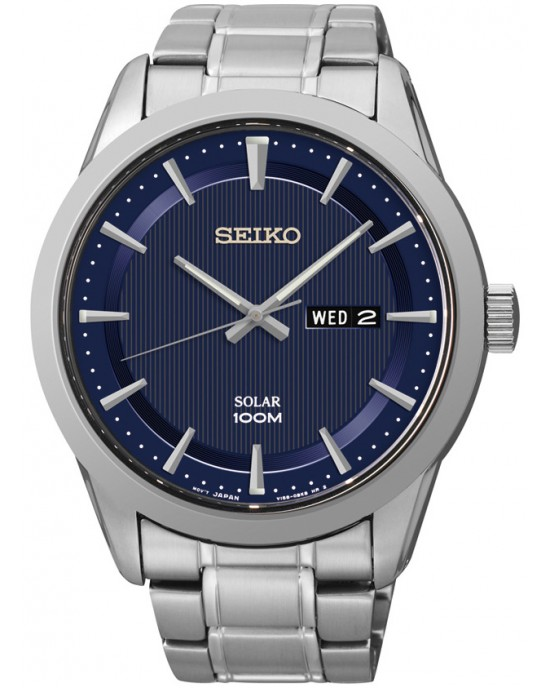 Seiko Solar Powered 100M SNE361P1 Men's Watch