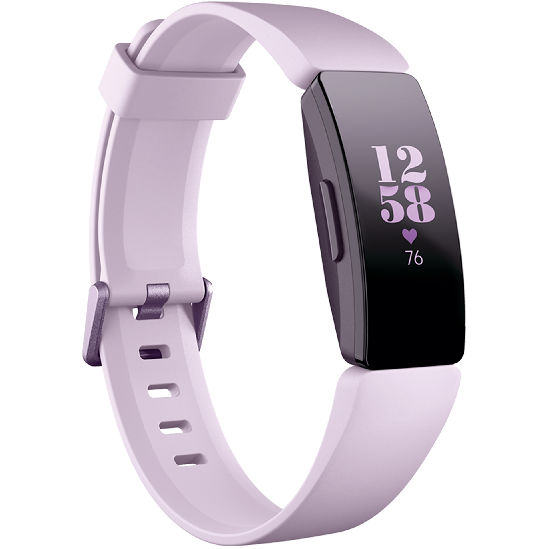 Fitbit Inspire HR Fitness Wristband with Heart Rate Tracker - Lilac/Lilac (FB413LVLV)