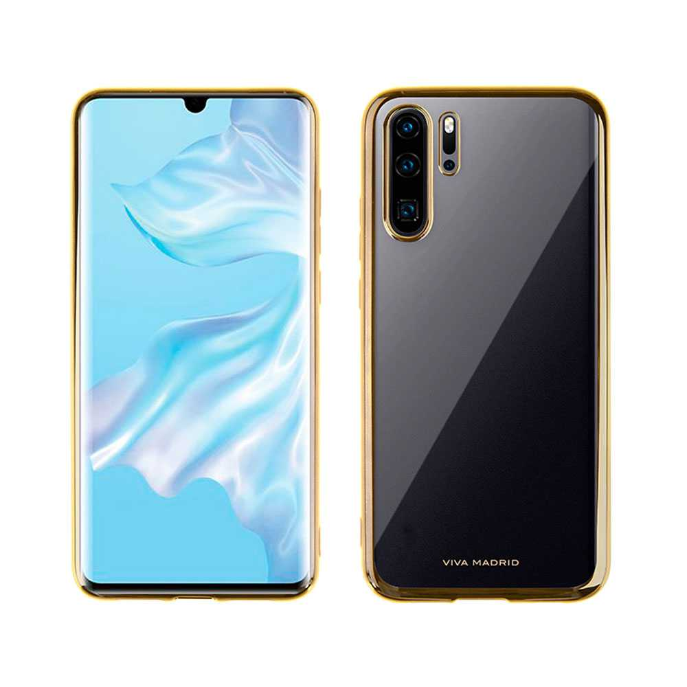 Viva Madrid Glazo Flex Back Case for Huawei P30 Pro - Champagne Gold