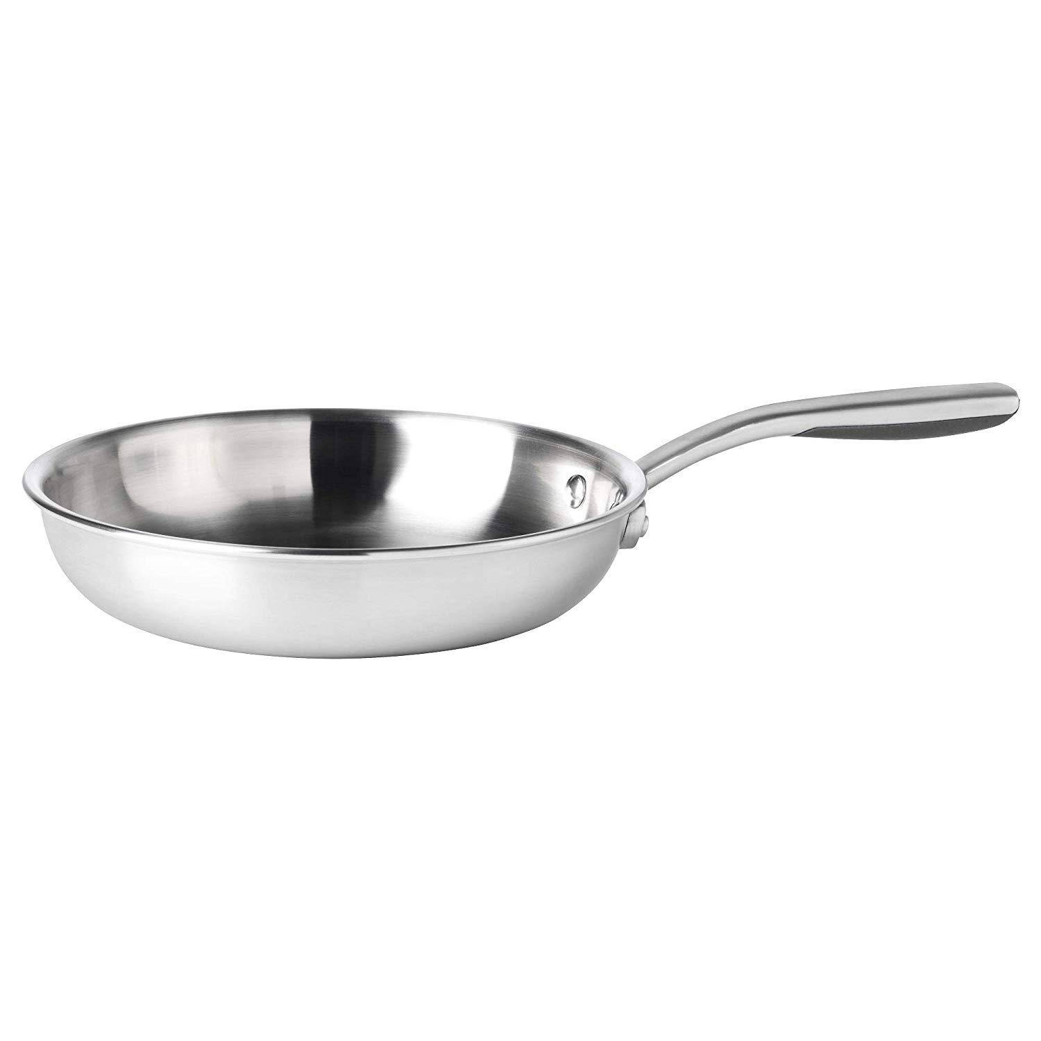 SENSUELL Frying pan, stainless steel, grey, 28 cm