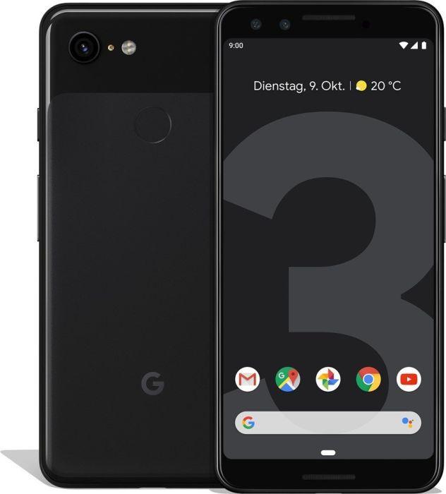 Google Pixel 3 - 64GB, 4GB RAM, 4G LTE, Just Black