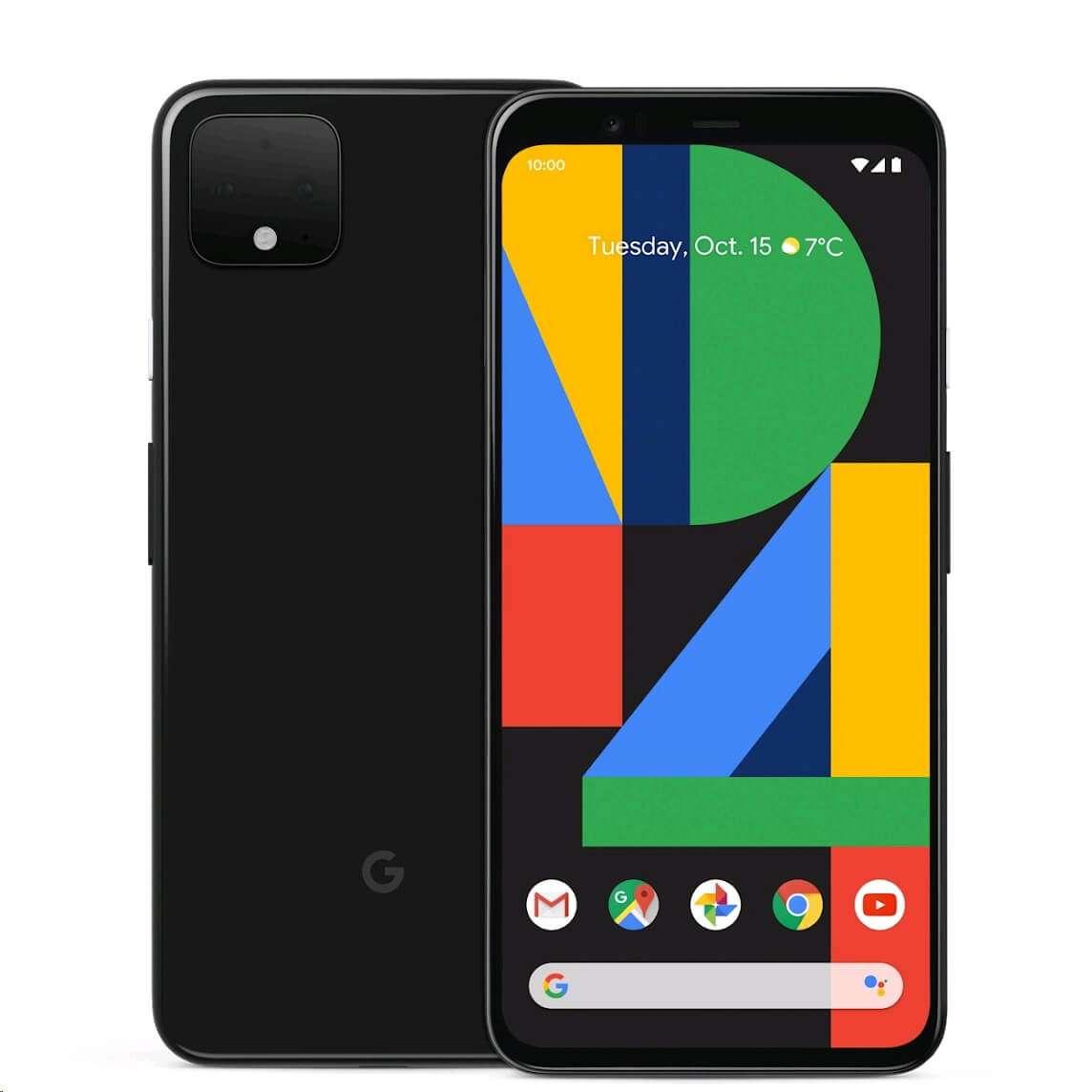 Google Pixel 4 - 128GB 6GB RAM 4G LTE Just Black