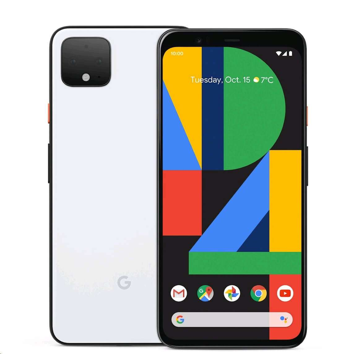 Google Pixel 4 - 128GB 6GB RAM 4G LTE Clearly White