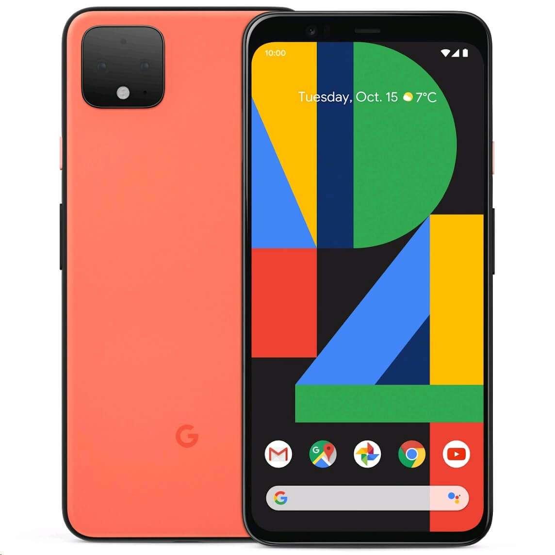 Google Pixel 4 - 64GB 6GB RAM 4G LTE Oh So Orange