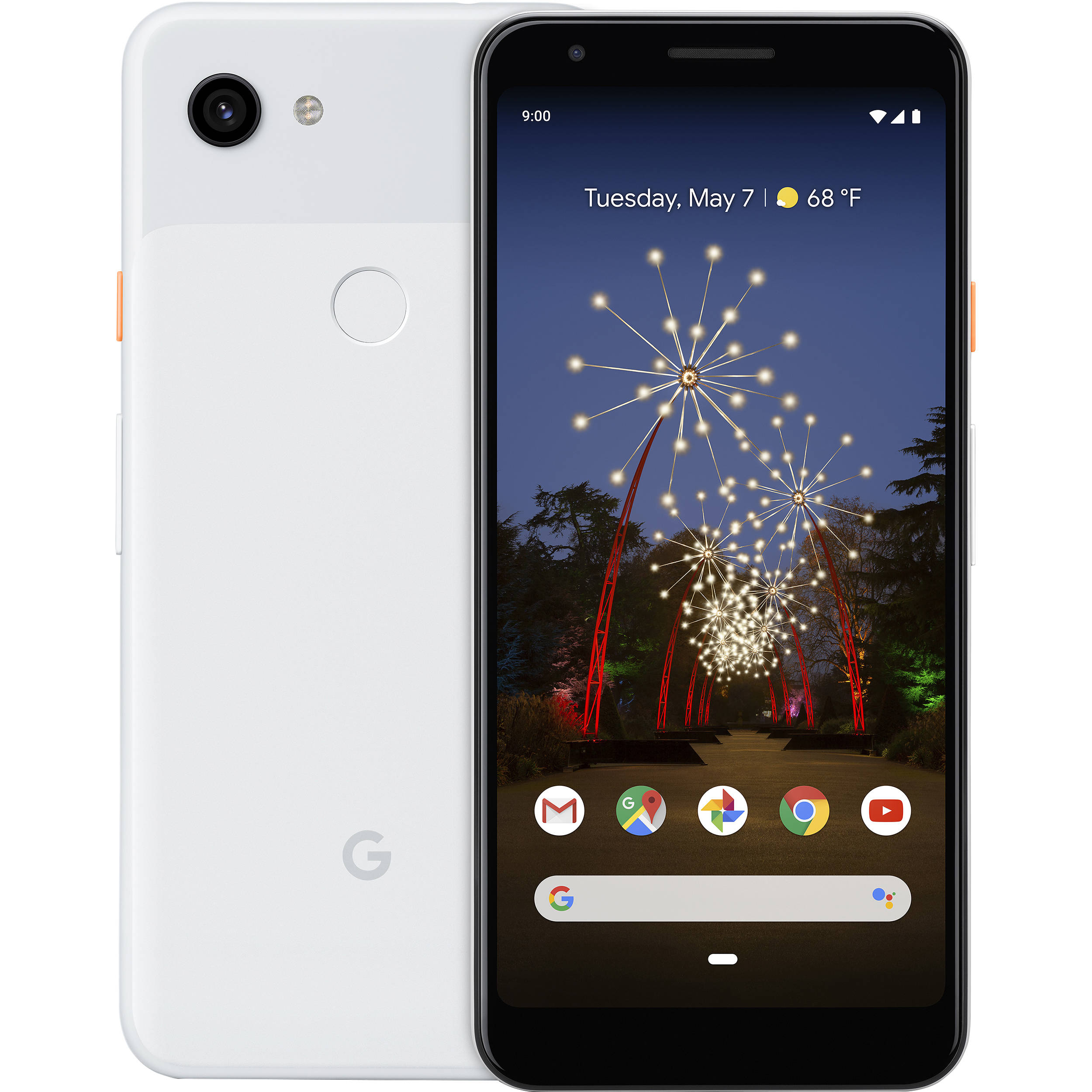 Google Pixel 3a 64GB 4G LTE Clearly White