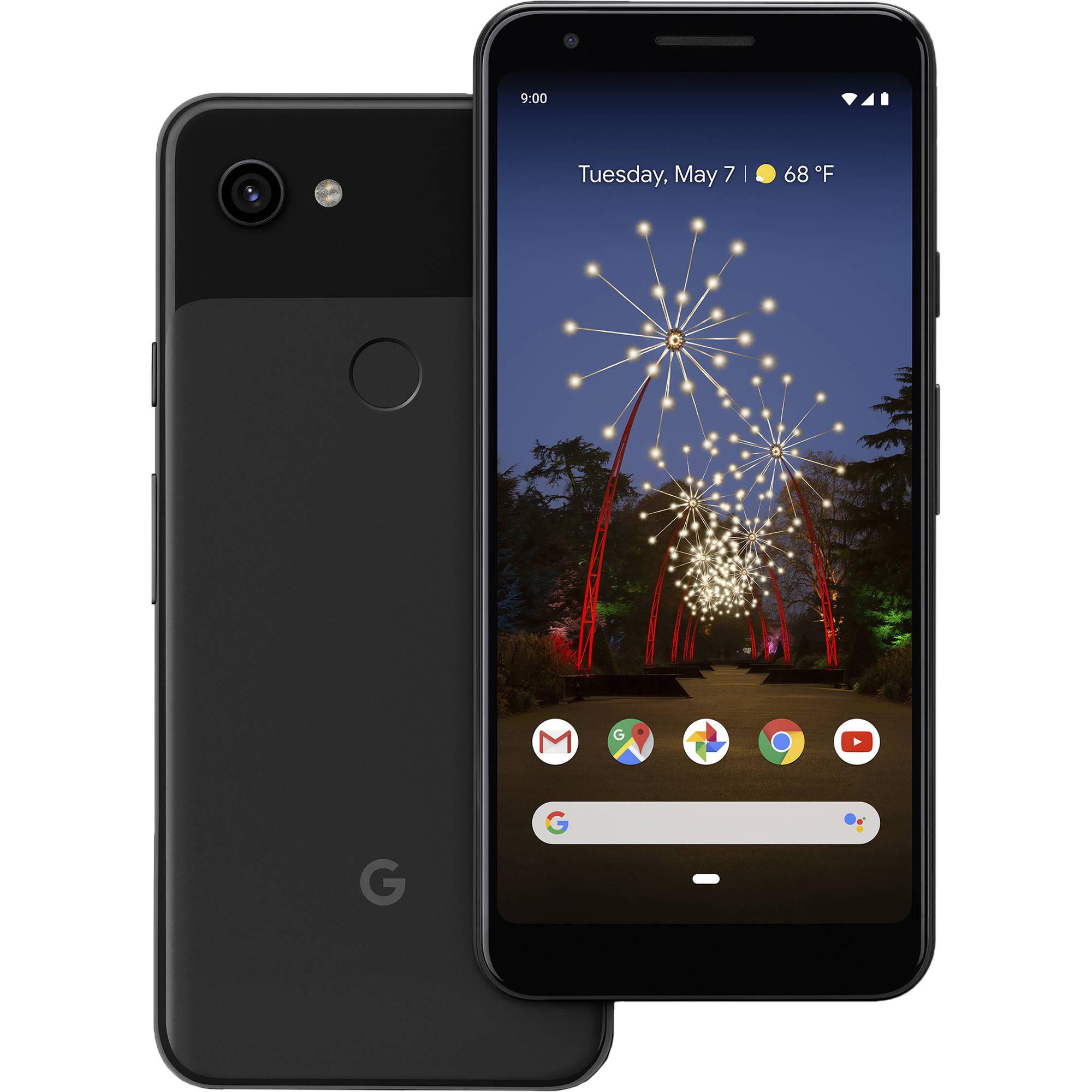 Google Pixel 3a XL 64GB 4G LTE Just Black