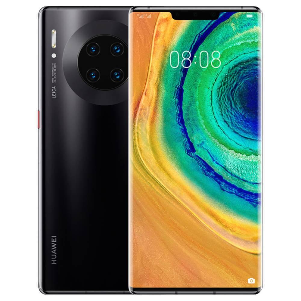 Huawei Mate 30 Pro Dual SIM - 256GB, 8GB RAM, 4G LTE, Black