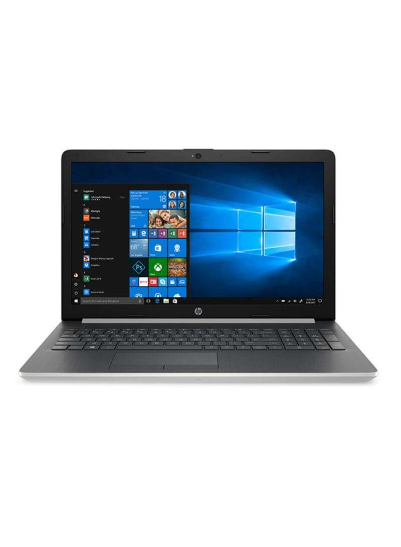 hp 15-da1016ne Laptop With 15.6-Inch Display, Core i5-8265U Processor/8GB RAM/1TB HDD/4GB NVIDIA GeForce MX130 Graphics Card Silver