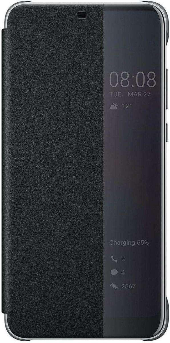 Huawei Smart View Flip Cover for Huawei Nova 3e - Black