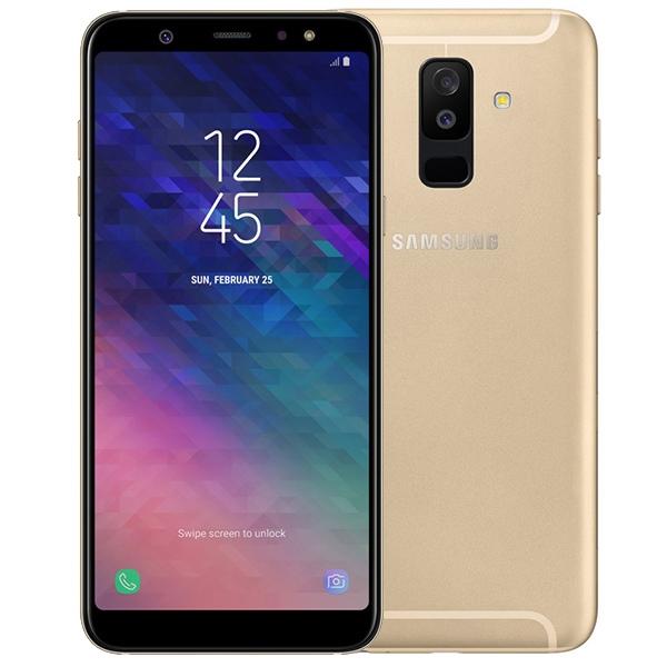 Samsung Galaxy A6 Plus Dual SIM - 32GB, 3GB RAM, 4G LTE, Gold