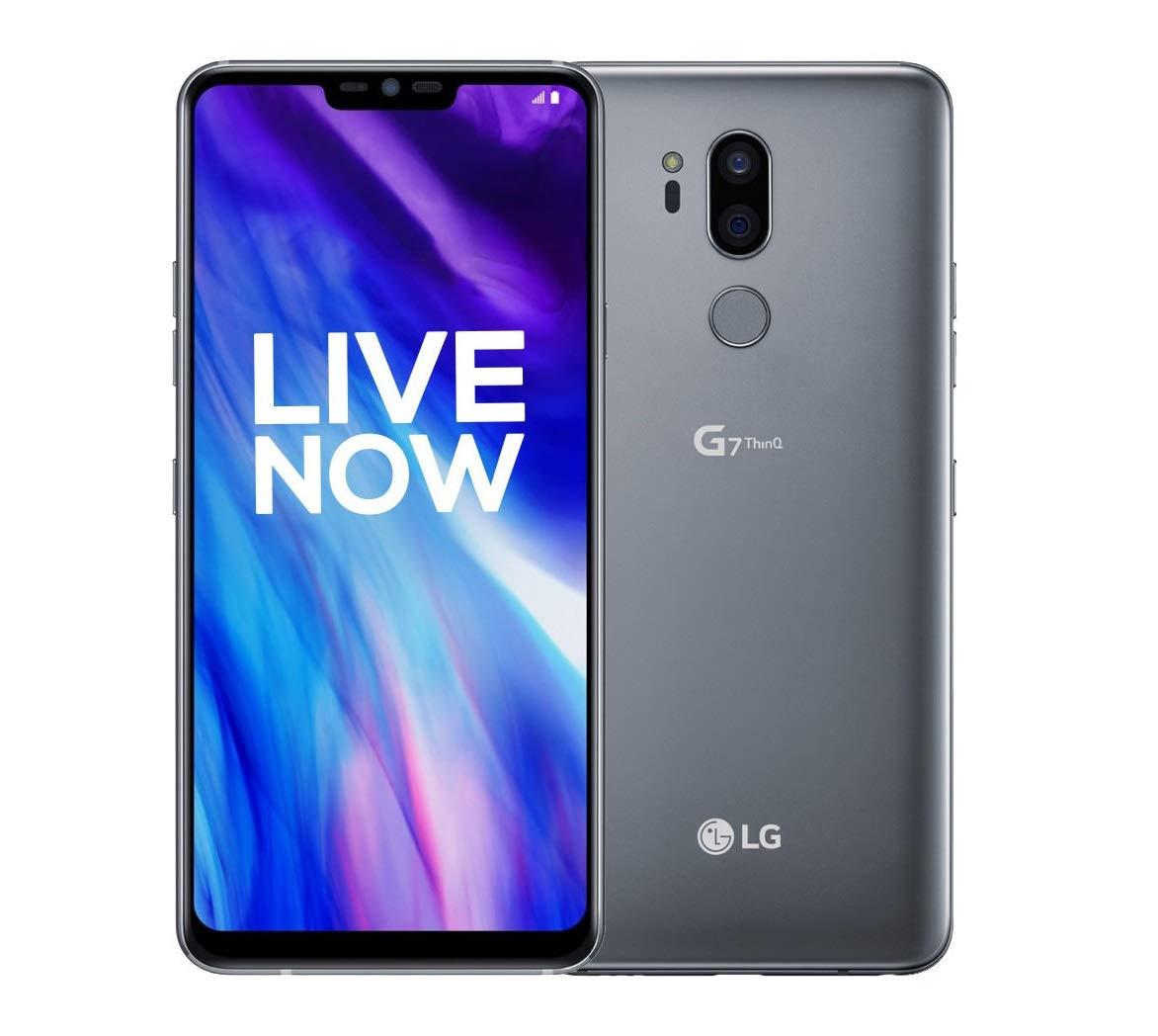 LG G7 ThinQ 4GB RAM, 64GB Platinum Grey
