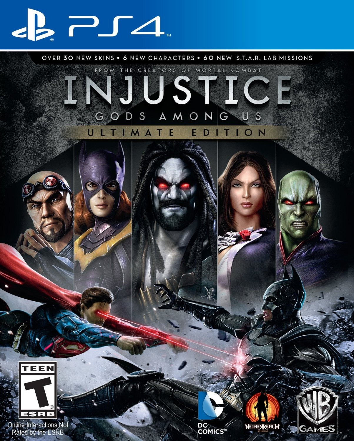 Injustice: Gods Among Us Ultimate Edition for Playstation 4 (R1)
