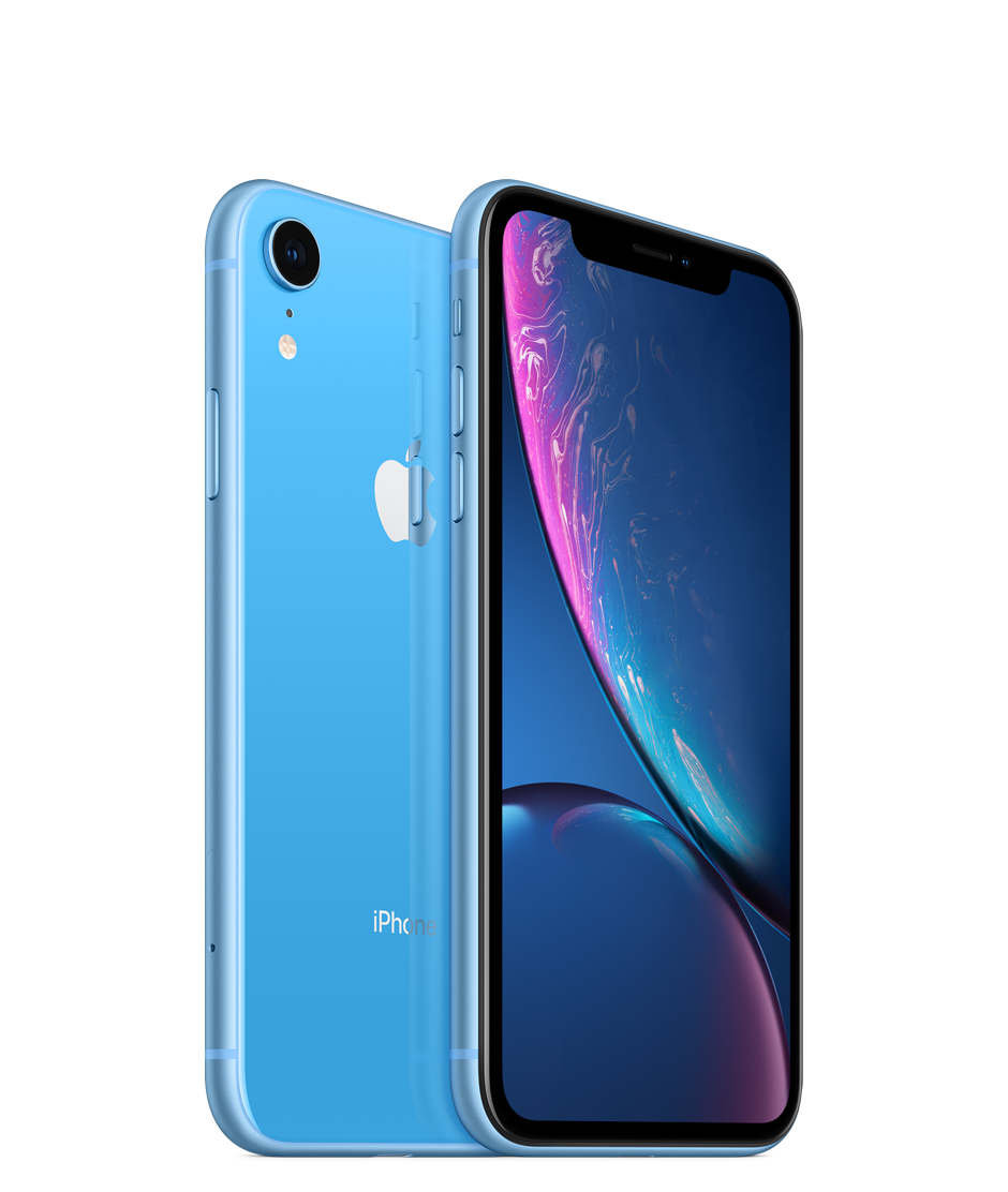 Apple iPhone XR with Face Time - 256GB, 4G LTE, Blue