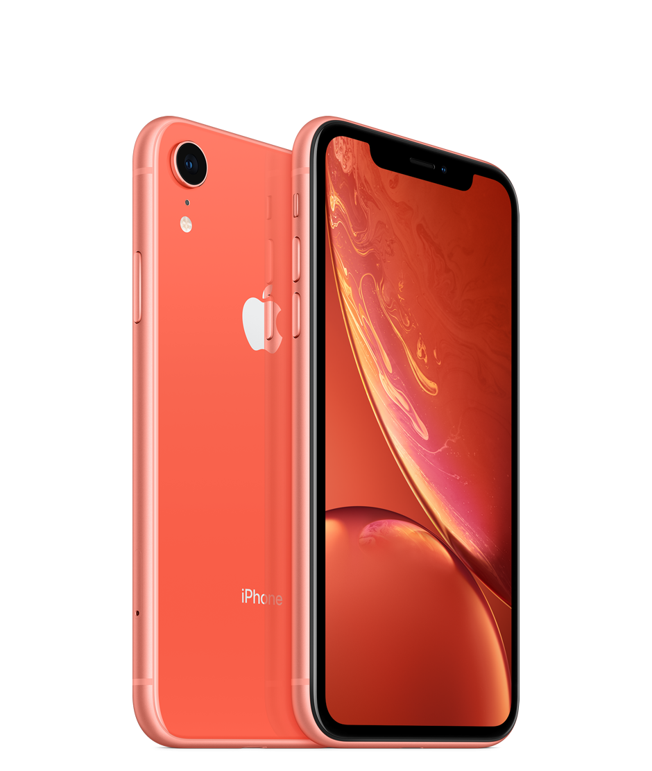 Apple iPhone XR Dual SIM With Face Time - 64GB, 4G LTE, Coral