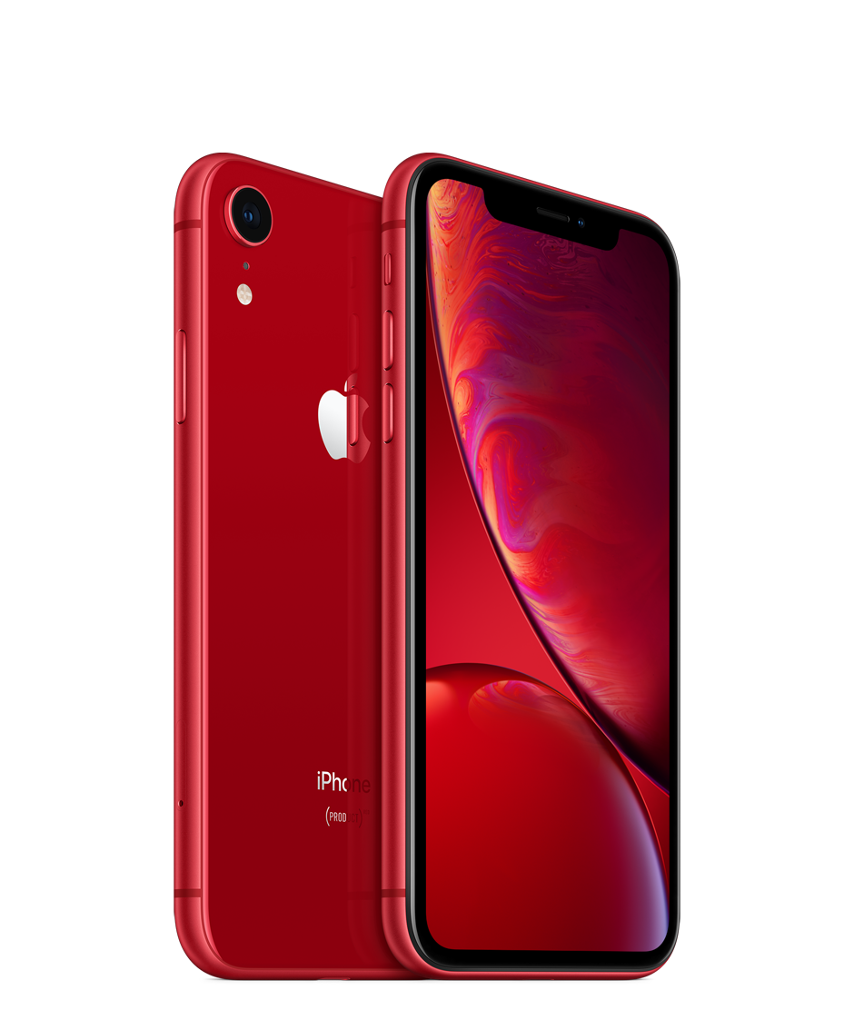 Apple iPhone XR with Face Time - 256GB, 4G LTE, Red