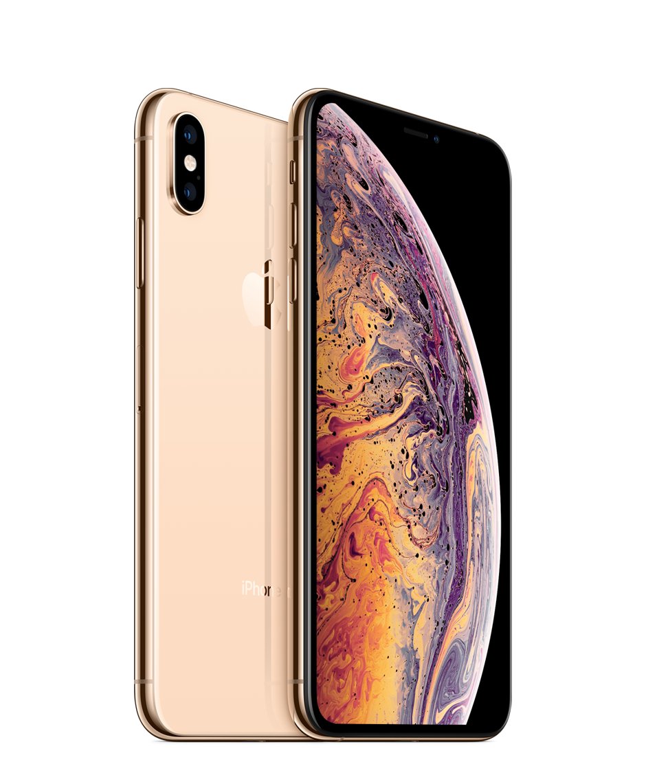 Apple iPhone Xs Max Dual SIM With FaceTime - 64GB, 4G LTE, Gold