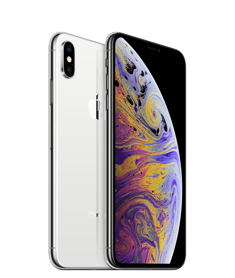 Apple iPhone Xs Max Dual SIM With FaceTime - 256GB, 4G LTE, Silver