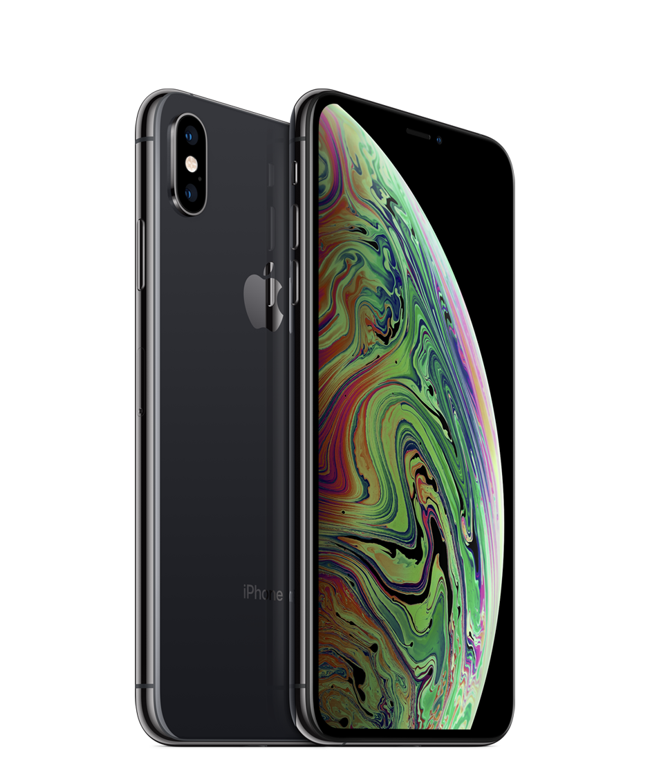 Apple iPhone Xs Max Dual SIM With FaceTime - 512GB, 4G LTE, Space Gray